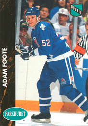 ADAM FOOTE 1991-92 ** ROOKIE **
