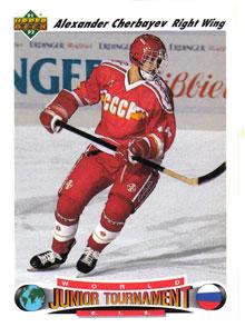 ALEXANDER CHERBAYEV 1991-92 ** ROOKIE **