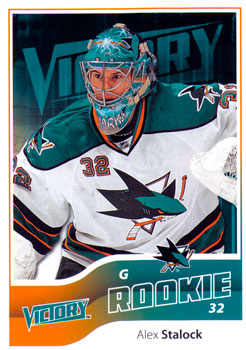 ALEX STALOCK 2011-12 ** ROOKIE **