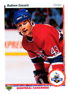 ANDREW CASSELS 1990-91 ** ROOKIE **