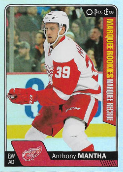 ANTHONY MANTHA 2016-17 ** ROOKIE **