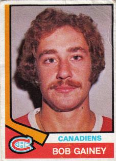 BOB GAINEY 1974-75 ** ROOKIE **
