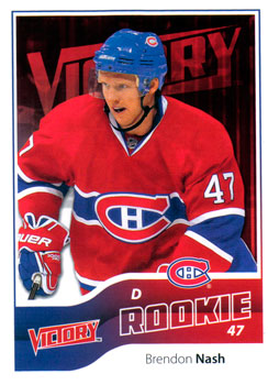BRENDON NASH 2011-12 ** ROOKIE **