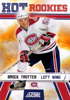 BROCK TROTTER 2010-11 ** ROOKIE **