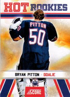 BRYAN PITTON 2010-11 ** ROOKIE **