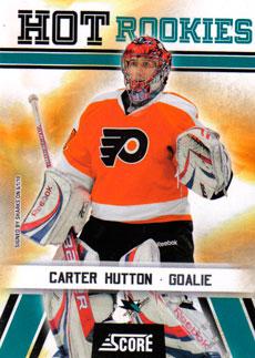 CARTER HUTTON 2010-11 ** ROOKIE **