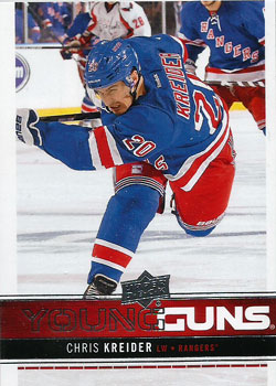 CHRIS KREIDER 2012-13 ** ROOKIE **
