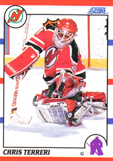 CHRIS TERRERI 1990-91 ** ROOKIE **