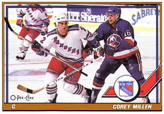 COREY MILLEN 1991-92 ** ROOKIE **