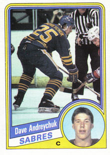 DAVE ANDREYCHUK 1984-85 ** ROOKIE **
