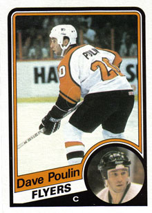 DAVE POULIN 1984-85 ** ROOKIE **