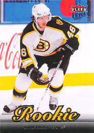 DAVID KREJCI 2007-08 ** ROOKIE **
