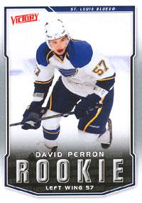 DAVID PERRON 2007-08 ** ROOKIE **