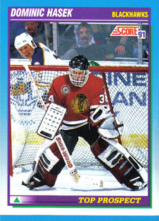 DOMINIK HASEK 1991-92 ** ROOKIE **