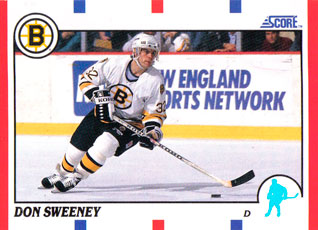 DON SWEENEY 1990-91 ** ROOKIE **