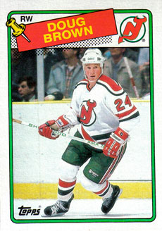 DOUG BROWN 1988-89 ** ROOKIE **