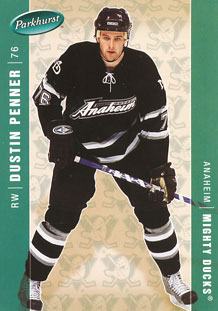 DUSTIN PENNER 2005-06 ** ROOKIE **