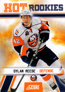 DYLAN REESE 2010-11 ** ROOKIE **