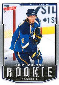 ERIK JOHNSON 2007-08 ** ROOKIE **