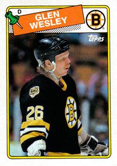 GLEN WESLEY 1988-89 ** ROOKIE **