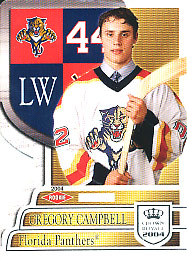 GREGORY CAMPBELL 2003-04 ** ROOKIE **