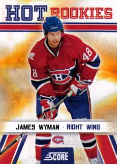 JAMES WYMAN 2010-11 ** ROOKIE **