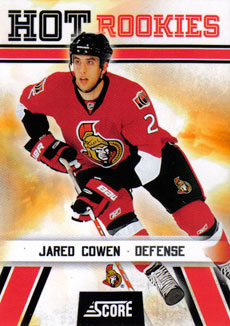 JARED COWEN 2010-11 ** ROOKIE **