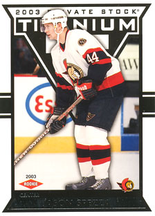 JASON SPEZZA 2002-03 ** ROOKIE **