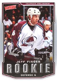 JEFF FINGER 2007-08 ** ROOKIE **
