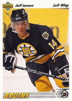 JEFF LAZARO 1991-92 ** ROOKIE **