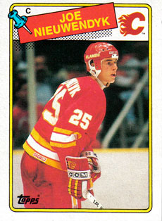 JOE NIEUWENDYK 1988-89 ** ROOKIE **
