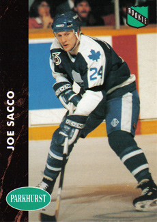 JOE SACCO 1991-92 ** ROOKIE **