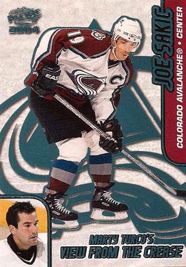 Joe Sakic Hockey Cards Value And Stats