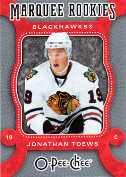 JONATHAN TOEWS 2007-08 ** ROOKIE **