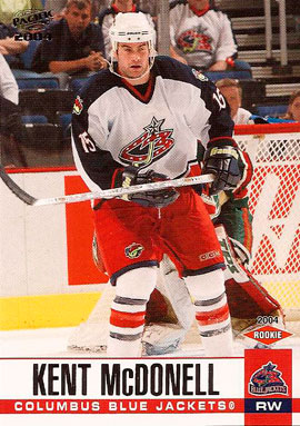KENT MCDONELL 2003-04 ** ROOKIE **