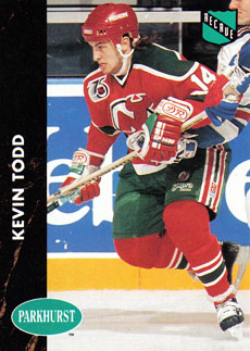 KEVIN TODD 1991-92 ** ROOKIE **