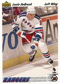 LOUIE DEBRUSK 1991-92 ** ROOKIE **