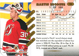 Martin Brodeur Hockey Cards Value And Stats