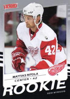 MATTIAS RITOLA 2008-09 ** ROOKIE **