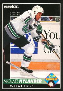 MICHAEL NYLANDER 1992-93 ** ROOKIE **