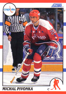 MICHAL PIVONKA 1990-91 ** ROOKIE **