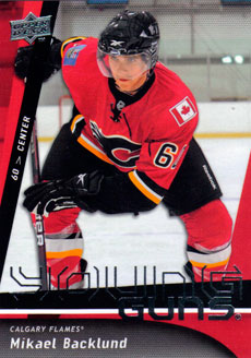 MIKAEL BACKLUND 2009-10 ** ROOKIE **