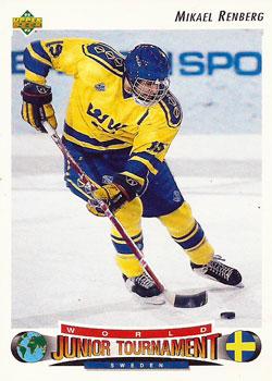 MIKAEL RENBERG 1992-93 ** ROOKIE **
