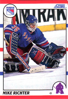 MIKE RICHTER 1990-91 ** ROOKIE **