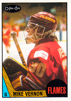 MIKE VERNON 1987-88 ** ROOKIE **