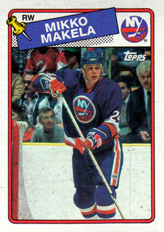 MIKKO MAKELA 1988-89 ** ROOKIE **