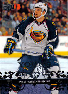 NATHAN OYSTRICK 2008-09 ** ROOKIE **