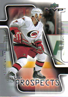 NICLAS WALLIN 2001-02 ** ROOKIE **