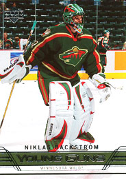 NIKLAS BACKSTROM 2006-07 ** ROOKIE **
