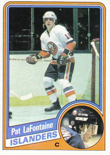 PAT LAFONTAINE 1984-85 ** ROOKIE **